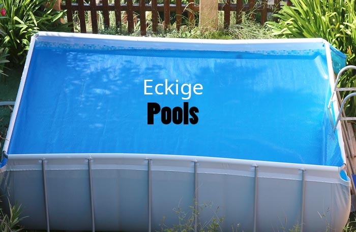 Eckiger Pool