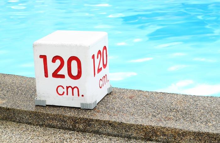 Pool 120 tief