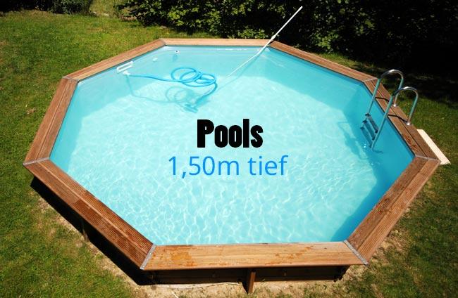 Pool 150 tief