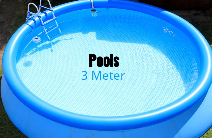 Pool 3m - 3 Meter Pools - 300cm
