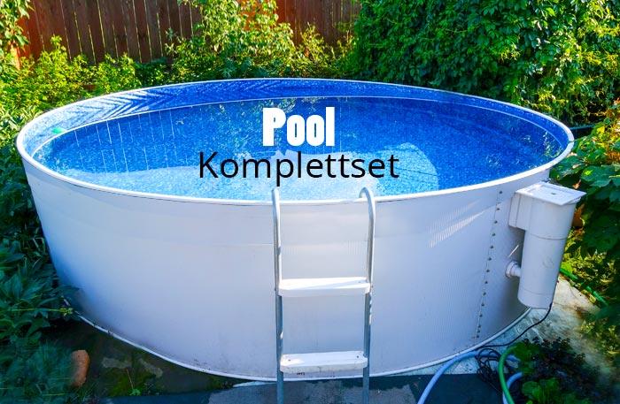 Pool Komplettset - Pool Set